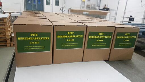 Beredskapsvatten Bag in Box