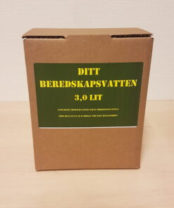 Beredskapsvatten Bag in Box